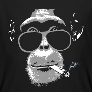 Chimpanzee with joint   Tee shirts - T-shirt bio Homme