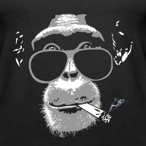 Chimpanzee with joint   Tops - Frauen Premium Tank Top