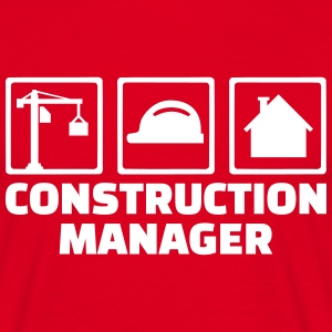 Construction Manager T-Shirts - Männer T-Shirt