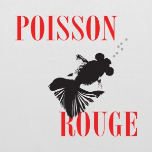 Poisson rouge - Tote Bag