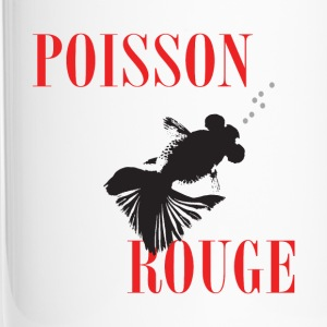 Poisson rouge - Mug thermos
