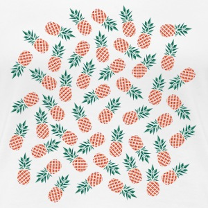 Pineapple Pattern T-Shirts - Frauen Premium T-Shirt