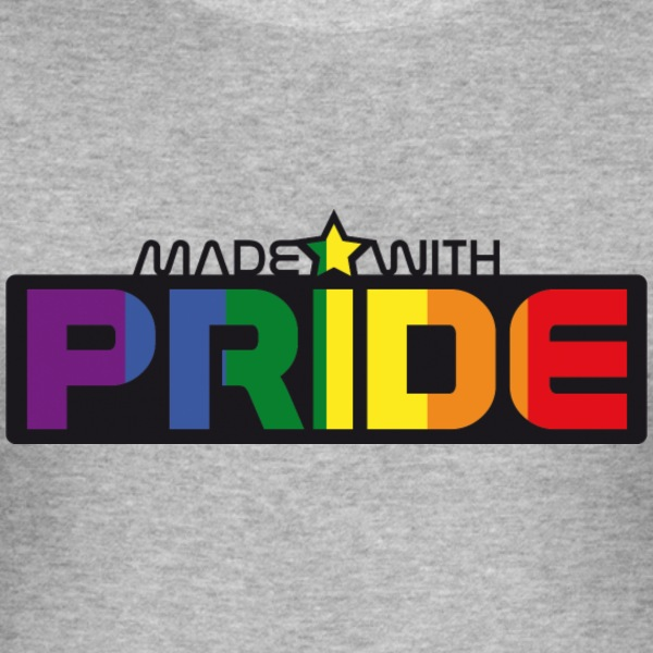 MADE WITH PRIDE Tee shirts - Tee shirt près du corps Homme