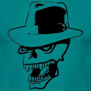 Skull evil hat T-Shirts - Men's T-Shirt