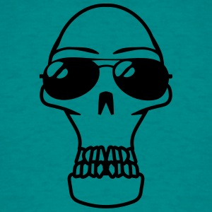Skull sunglasses arrogant T-Shirts - Men's T-Shirt