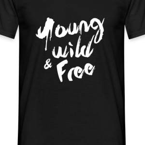 Young Wild & Free-Tee Shirt Homme - T-shirt Homme