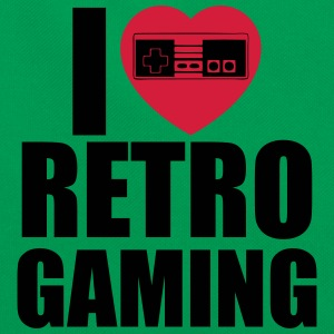 i love retro gaming Bolsas y mochilas - Bandolera retro