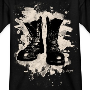 Old Boots bleached look - Teenager T-Shirt