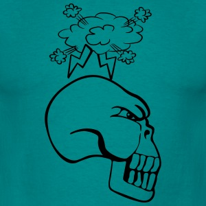 Skull agro wicked cool T-Shirts - Men's T-Shirt