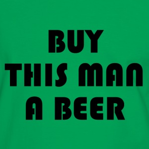 Buy this man a beer  - Men's Ringer Shirt