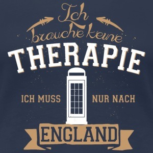 NoTherapy_England  T-Shirts - Frauen Premium T-Shirt