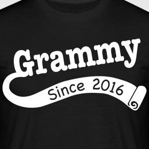 Grammy Since 2016 T-Shirts - Men's T-Shirt