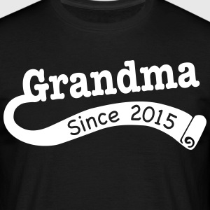 Grandma Since 2015 T-Shirts - Men's T-Shirt