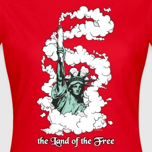 the Land of the Free T-Shirts - Frauen T-Shirt