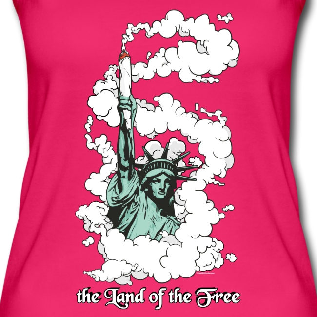 the Land of the Free ... Cannabis - female top