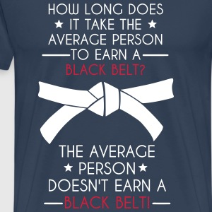Black Belt | Average T-Shirts - Männer Premium T-Shirt