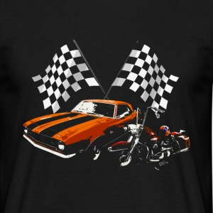 Only V8 Vtwin - T-shirt Homme