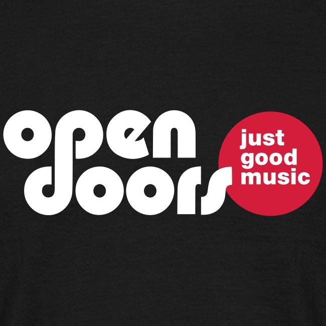 Schriftzug open doors