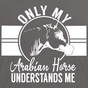 Seulement mon cheval arabe... Tee shirts - T-shirt contraste Femme