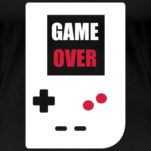 game over : Retro Gaming console T-shirts - Dame premium T-shirt