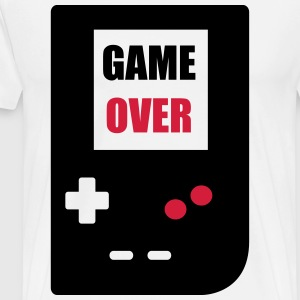 game over : Retro Gaming console T-shirts - Mannen Premium T-shirt