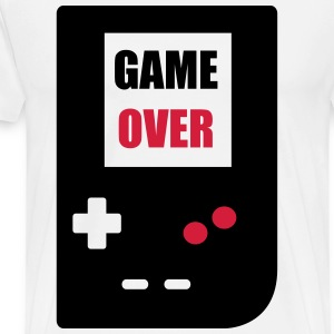 game over : Retro Gaming console T-shirts - Premium-T-shirt herr