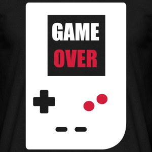 game over : Retro Gaming console T-shirts - Mannen T-shirt