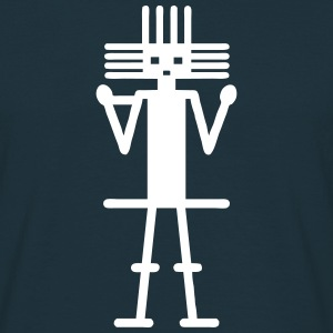 MAN OF ATACAMA (tribal collection) - Men's T-Shirt