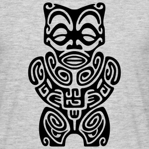 TIKI FROM MARQUESAS ISLANDS (tribal collection) - Men's T-Shirt