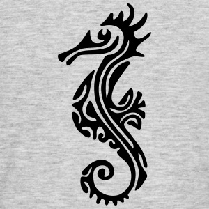 TAHITIAN SEA HORSE (tribal collection) - Men's T-Shirt