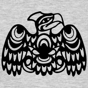 EAGLE WEST COAST SALISH (tribal collection) - Men's T-Shirt