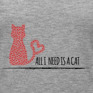 all i need is a cat Tops - Women's Premium Tank Top