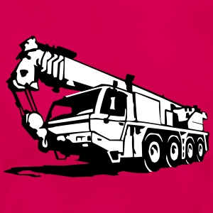 Autokran, crane (2 color) T-Shirts - Frauen T-Shirt
