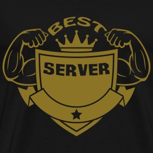 Best server T-Shirts - Men's Premium T-Shirt