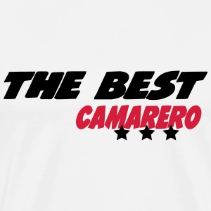 The best camarero T-Shirts - Men's Premium T-Shirt