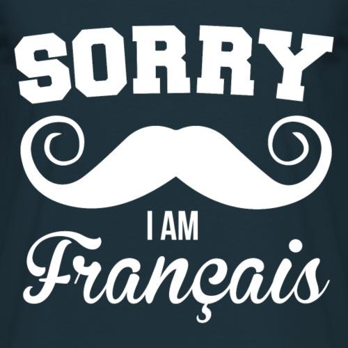 Humour Sorry i'm français