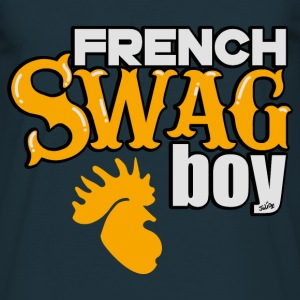 Tee Shirt France French Swag Boy, Coq Français - T-shirt Homme