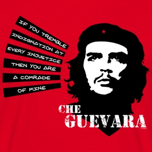 Che Guevara If you tremble with Indignation Män - Männer T-Shirt