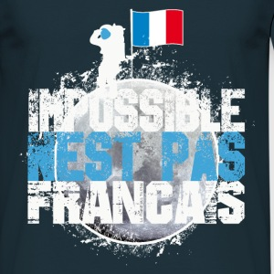Tee Shirt France bleu blanc rouge: Impossible ...  - T-shirt Homme