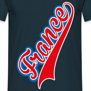 Tee Shirt France bleu blanc rouge: France tricolor - T-shirt Homme