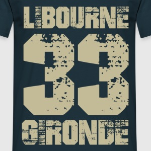 Tee Shirt France Aquitaine Gironde 33 Libourne - T-shirt Homme