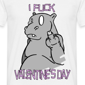 i fuck valentine's day - Tee shirt Homme