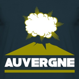 Tee Shirt France Auvergne volcan - T-shirt Homme