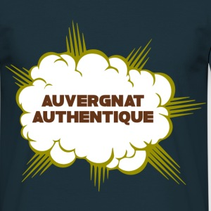 Tee Shirt France Auvergne Auvergnat authentique - T-shirt Homme