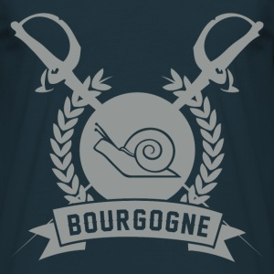 Tee Shirt France Escargots de Bourgogne II - T-shirt Homme