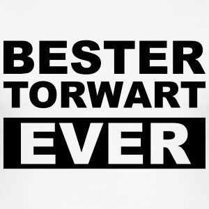 Bester Torwart ever T-Shirts - Männer Slim Fit T-Shirt