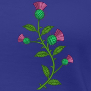 scotland thistle flower - Women's Premium T-Shirt