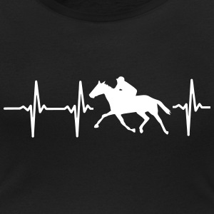 MY HEART BEATS FOR HORSES! T-Shirts - Women's Scoop Neck T-Shirt