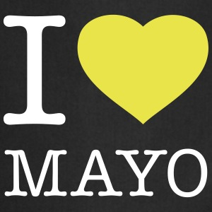 I LOVE MAYO  Aprons - Cooking Apron
