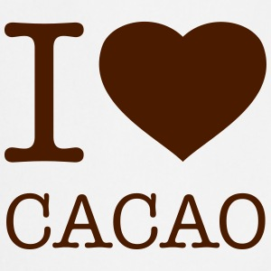 I LOVE CACAO  Aprons - Cooking Apron